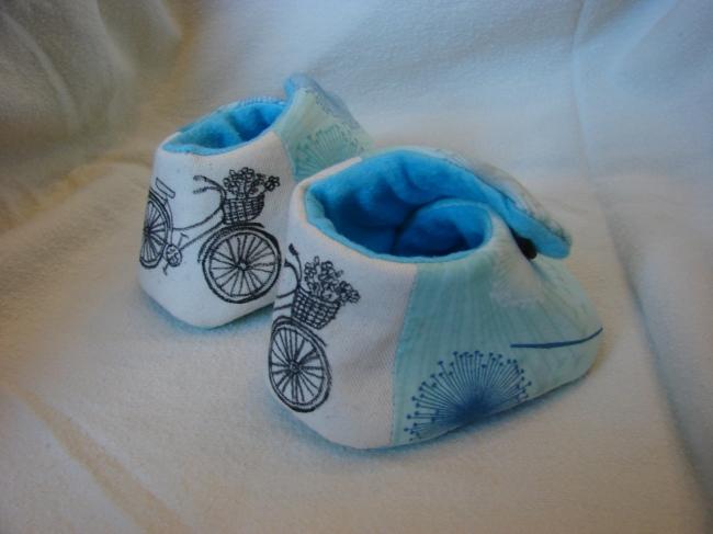 bike baby booties