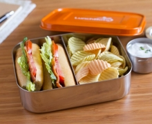 Duo bento boxes are great for bigger appetites.