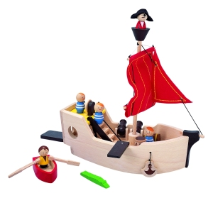 Plan Toys Pirate Ship , argh matey