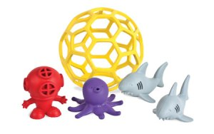 Natural Rubber bath toys are great for kids of all ages
