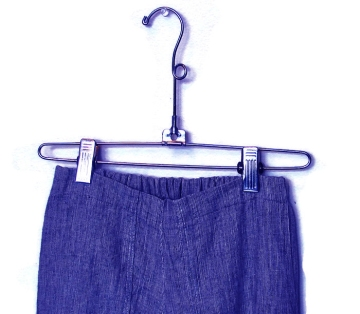 Hemp and organic cotton shorts.